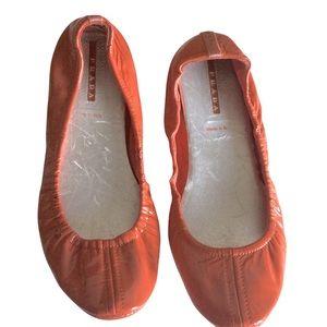 Vintage PRADA Ballerina Flats Made in Italy